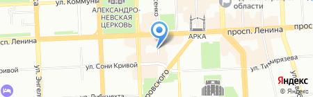 СДЮСШОР по шахматам и шашкам на карте Челябинска