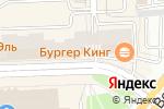 Схема проезда до компании Modis в Челябинске