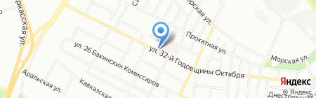 Небеса на карте Челябинска