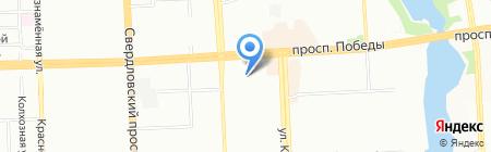 Maximum на карте Челябинска