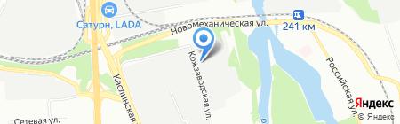 Уральский центр автопокраски на карте Челябинска