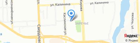 Вега-Тур на карте Челябинска