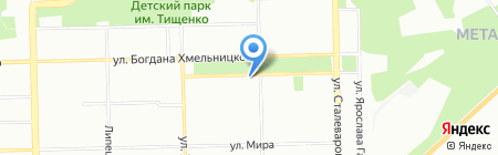 Банкомат АК Барс Банк на карте Челябинска