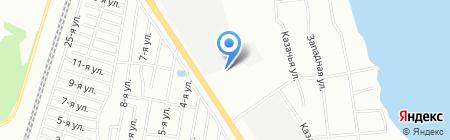 Приусадебный двор на карте Челябинска