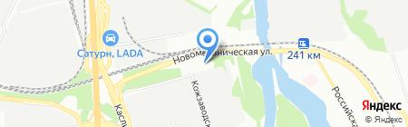 Челябинский Завод Крепежных Изделий на карте Челябинска