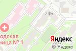 Схема проезда до компании Квартал в Челябинске