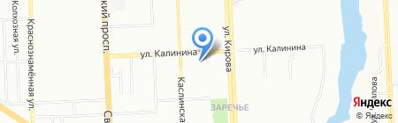 Отдел водных ресурсов на карте Челябинска