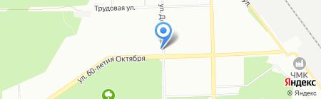 Story на карте Челябинска