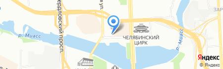 Альянс на карте Челябинска
