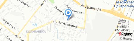 Развитие-Сервис на карте Челябинска