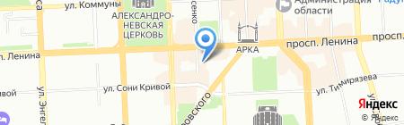 Знание на карте Челябинска