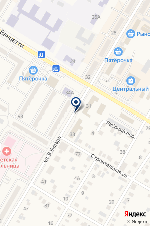 ГОРОДСКОЙ РЫНОК на карте Коркино