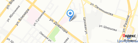 Урал-логистик на карте Челябинска