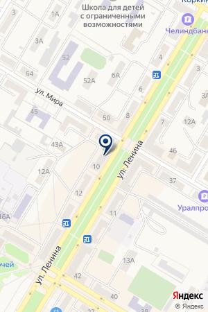 ГОРОДСКИЕ ЗРЕЛИЩНЫЕ КАССЫ на карте Коркино
