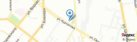 Фламинго Тур на карте Челябинска
