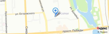 Южно-Уральский дом оценки на карте Челябинска
