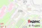 Схема проезда до компании Уральский Резерв в Челябинске