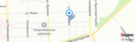 Бюро юридической помощи на карте Челябинска