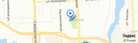 Студия Глеба Савалова на карте Челябинска