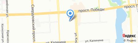 Есфирь на карте Челябинска