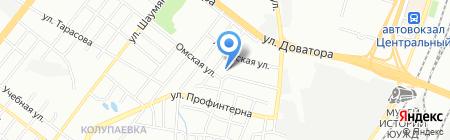 Землеустроительная компания на карте Челябинска