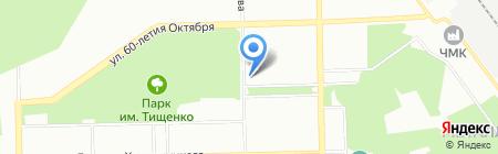 Компания Стар на карте Челябинска
