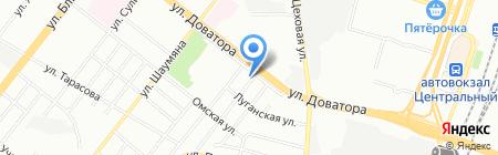 Бизнес-дом На Ш на карте Челябинска
