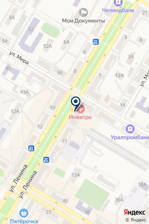 АПТЕКА N 216 на карте Коркино