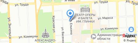 Планар на карте Челябинска