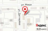 Схема проезда до компании Метжилком в Челябинске