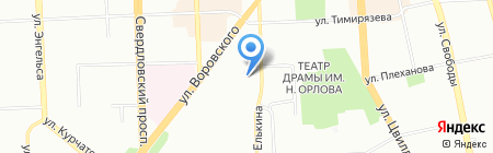 Бас-Авто на карте Челябинска