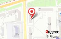 Схема проезда до компании Вега в Челябинске
