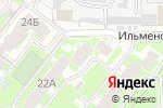 Схема проезда до компании ТЕХНиКо в Челябинске