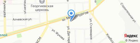 Совенок на карте Челябинска