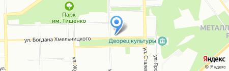 Росинка на карте Челябинска