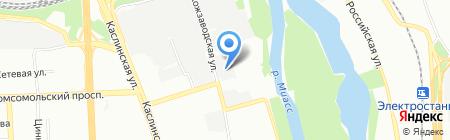ЧелябГазонСервис на карте Челябинска
