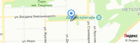 Esteil на карте Челябинска