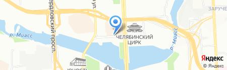 Чарли на карте Челябинска