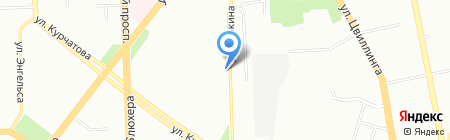 Клининг Сервис на карте Челябинска