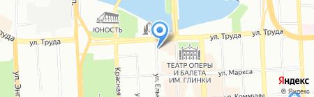 Панацея на карте Челябинска
