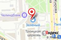 Схема проезда до компании Издательский Дом «Пресс-Мастер» в Челябинске