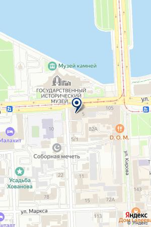 74 ЭТАЖА на карте Челябинска