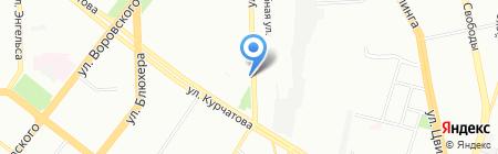 Независимая оценочная палата на карте Челябинска