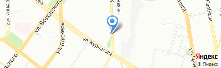 Инженерные решения безопасности на карте Челябинска