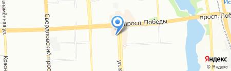 Магазин детских товаров и канцтоваров на карте Челябинска