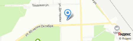 Детский сад №56\/1 на карте Челябинска
