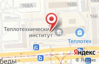 Схема проезда до компании Монолит в Челябинске