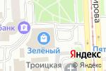 Схема проезда до компании Магазин кондитерских изделий в Челябинске