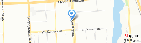 Железная мебель на карте Челябинска
