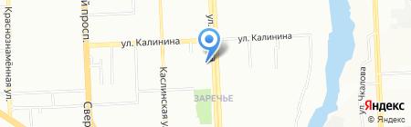 Школа вокала Ольги Буната на карте Челябинска